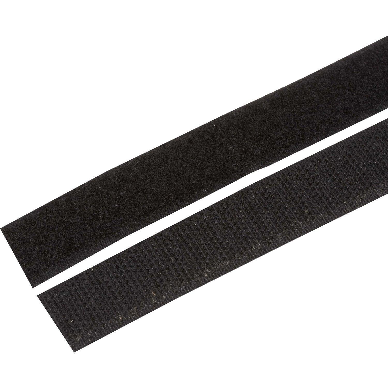 bande auto agrippante auto agrippante scratch grip x mm leroy merlin. Black Bedroom Furniture Sets. Home Design Ideas