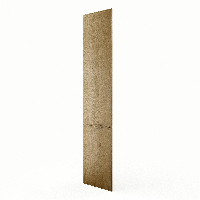 Porte colonne de cuisine ch ne f40 200 origine l40 x h200 cm leroy merlin - Leroy merlin origine ...