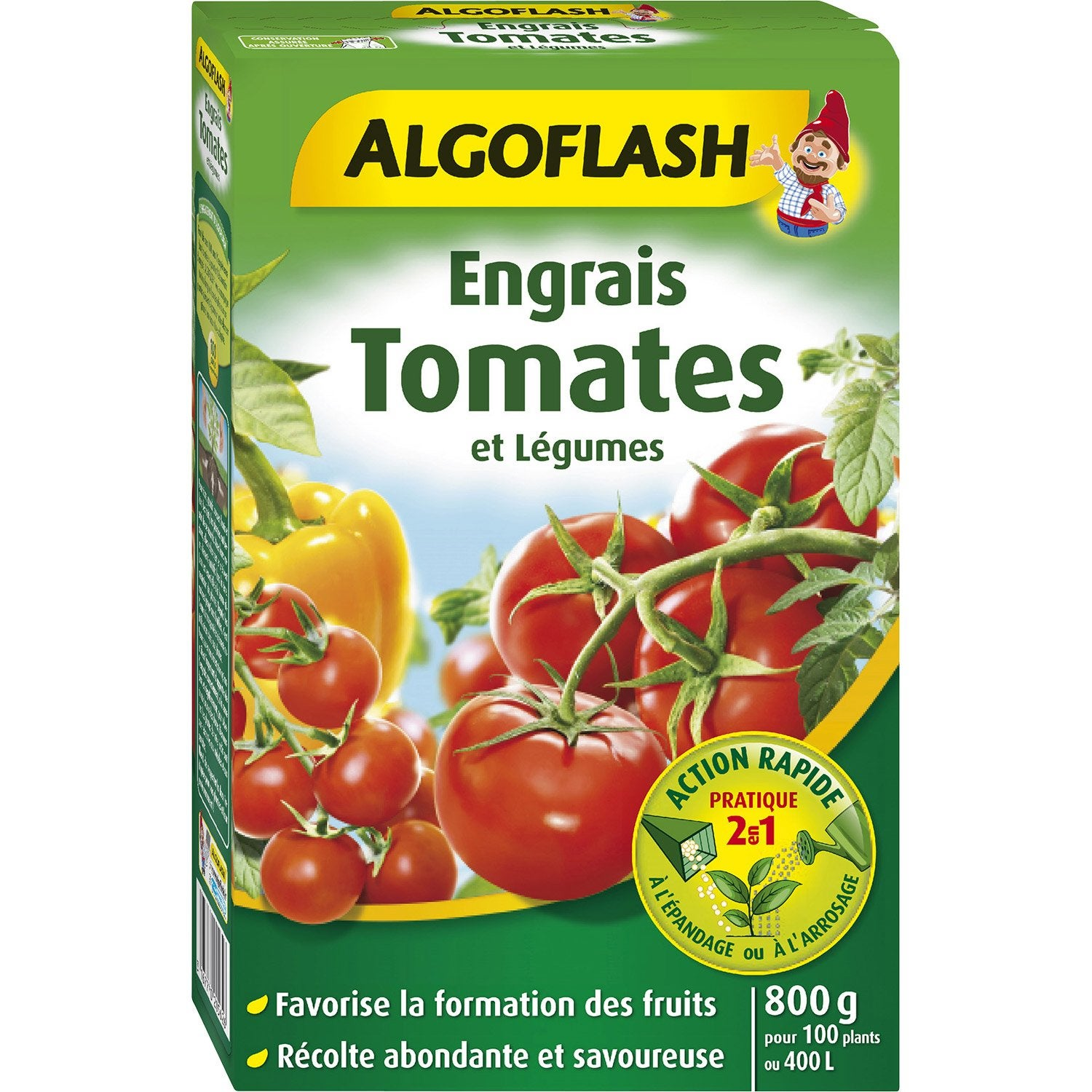 engrais tomates algoflash 800 g leroy merlin. Black Bedroom Furniture Sets. Home Design Ideas