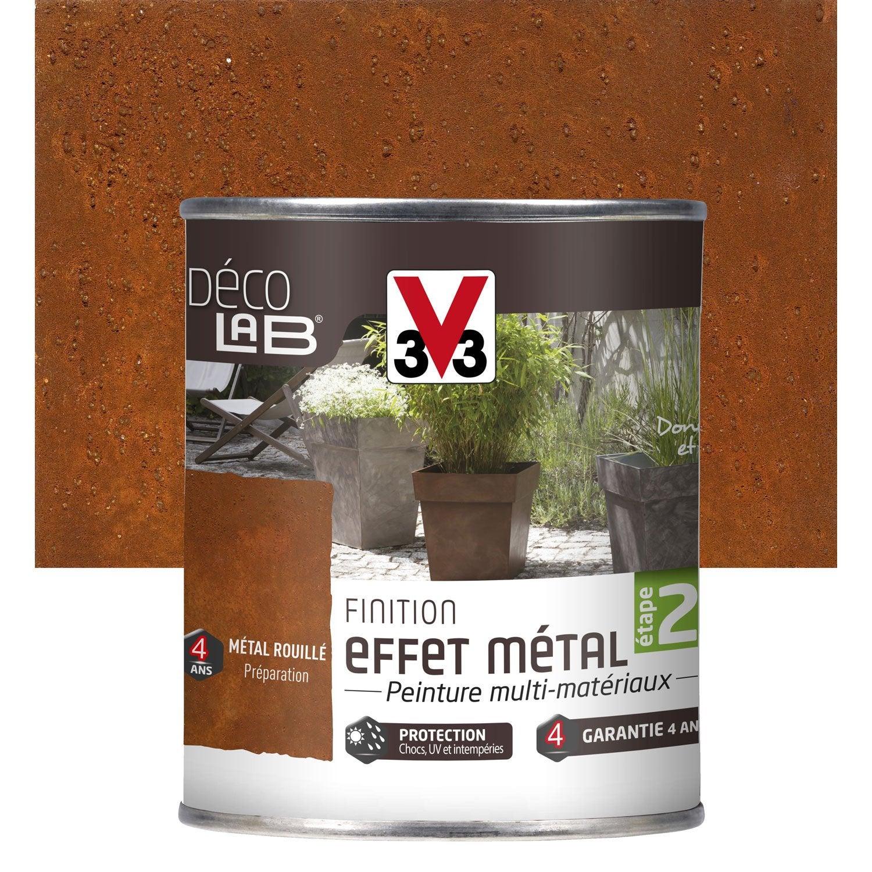 EF MET FINIT DECO V33 0,25L METAL ROUILL | Leroy Merlin