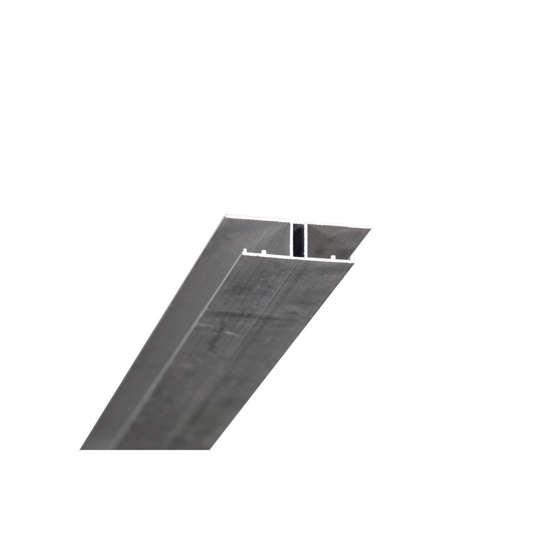 Profil jonction pour plaque ep 16 mm aluminium l 4 m for Plaque translucide leroy merlin