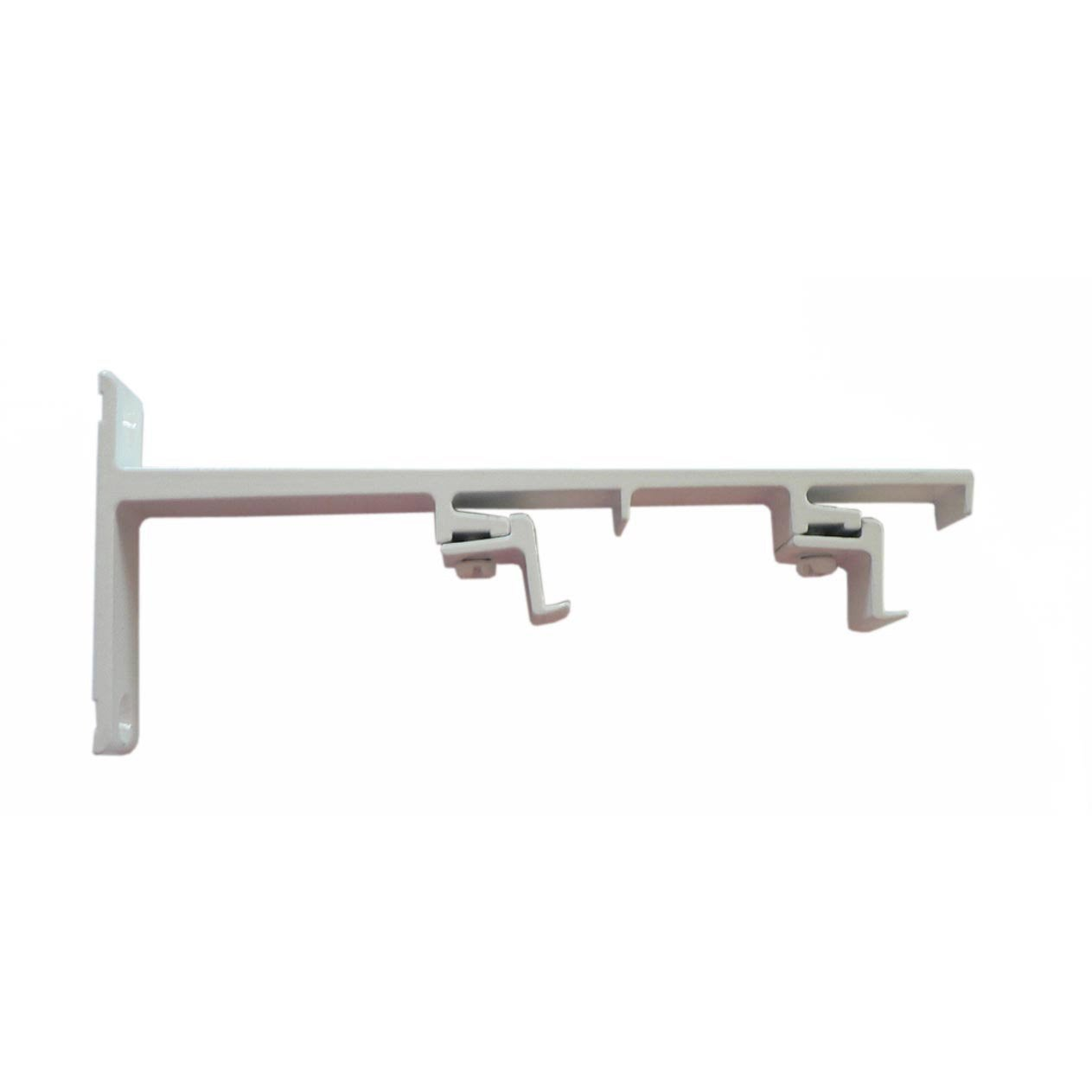 Support simple mur en acier blanc classic rail cm leroy merlin - Support plantes grimpantes leroy merlin ...