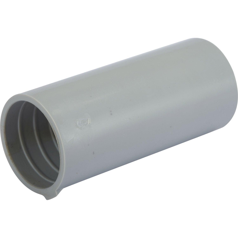 manchon pour tube irl diam 20 mm electraline leroy merlin. Black Bedroom Furniture Sets. Home Design Ideas