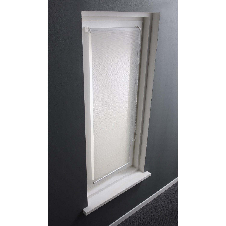 Store enrouleur tamisant loft blanc 40x170 cm leroy merlin - Loft sol leroy merlin ...