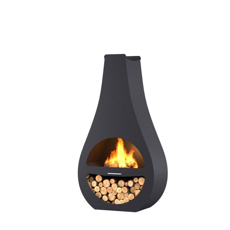 chemin e d 39 ext rieur au charbon de bois barbecook kuro si. Black Bedroom Furniture Sets. Home Design Ideas