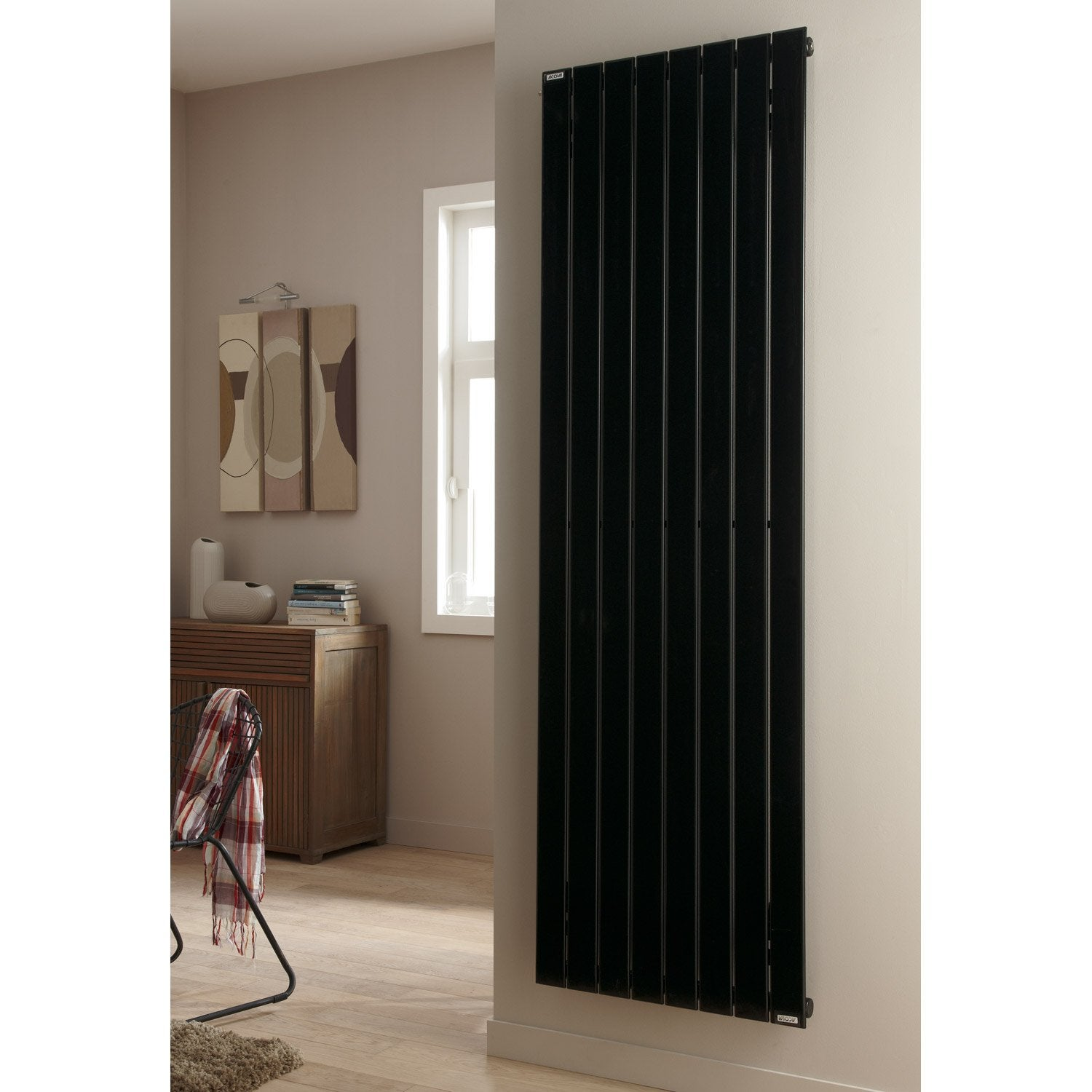 radiateur chauffage central acova lina double couleur l. Black Bedroom Furniture Sets. Home Design Ideas