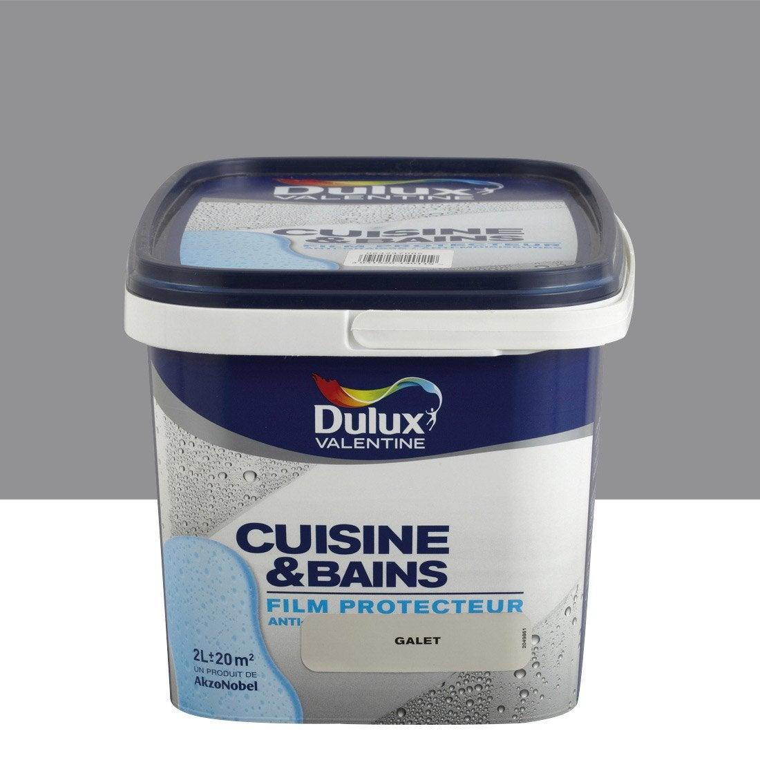 Peinture cuisine et bain dulux valentine gris building 2 for Peinture v cuisine