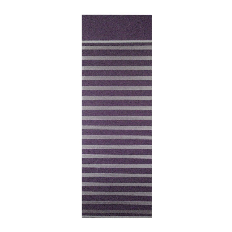 panneau japonais inspire jour nuit violet x cm leroy merlin. Black Bedroom Furniture Sets. Home Design Ideas
