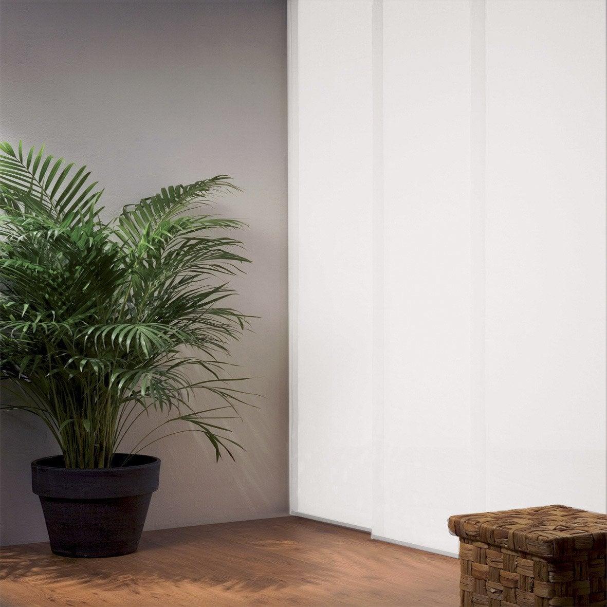 panneau japonais cru 250 x 50 cm leroy merlin. Black Bedroom Furniture Sets. Home Design Ideas