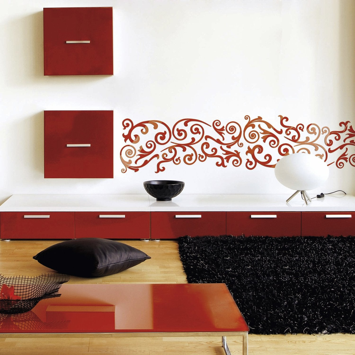 esprit ethnique pochoirs du monde leroy merlin. Black Bedroom Furniture Sets. Home Design Ideas