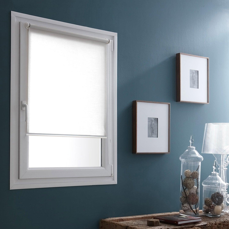 store enrouleur tamisant mesh blanc 62 65 x 170 cm. Black Bedroom Furniture Sets. Home Design Ideas