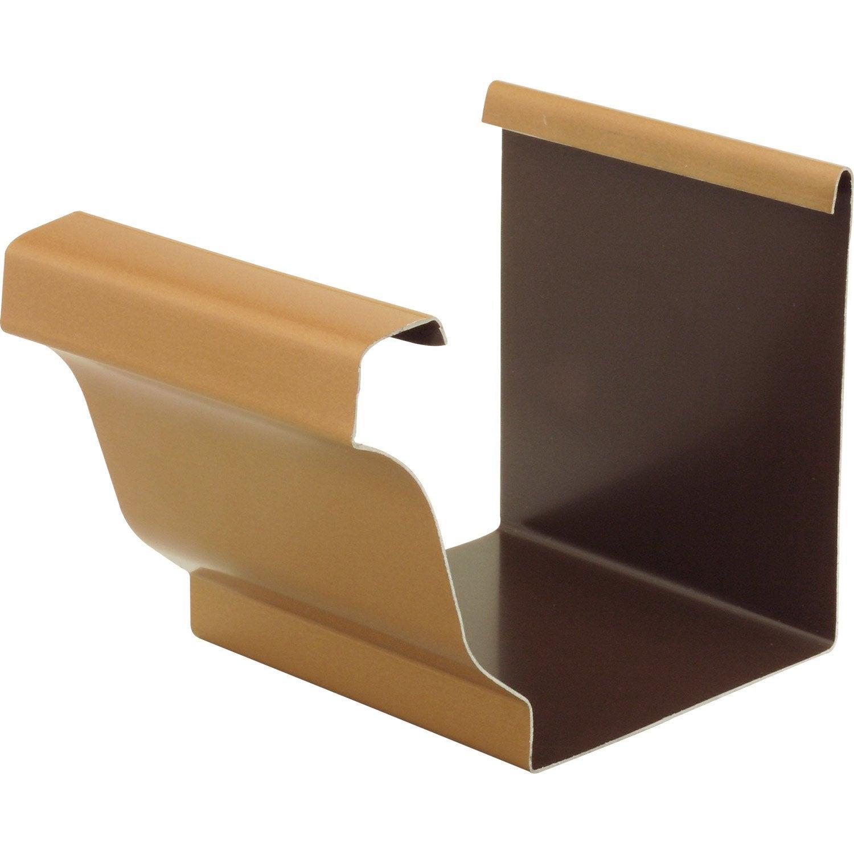 angle int rieur en aluminium pour goutti re carr e d velopp 25 miel leroy merlin. Black Bedroom Furniture Sets. Home Design Ideas