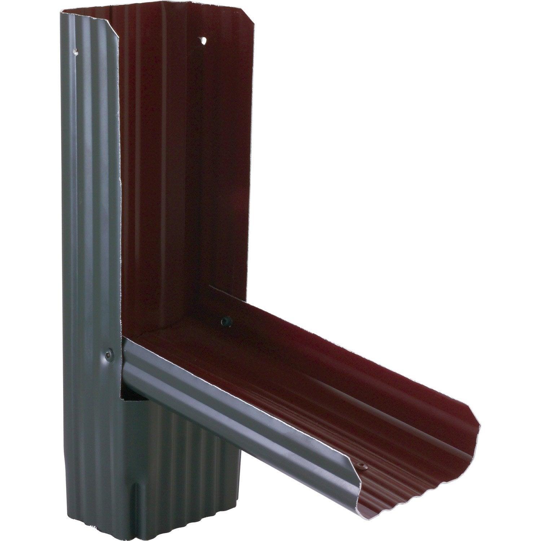 r cup rateur d 39 eau de pluie aluminium ardoise scover plus. Black Bedroom Furniture Sets. Home Design Ideas