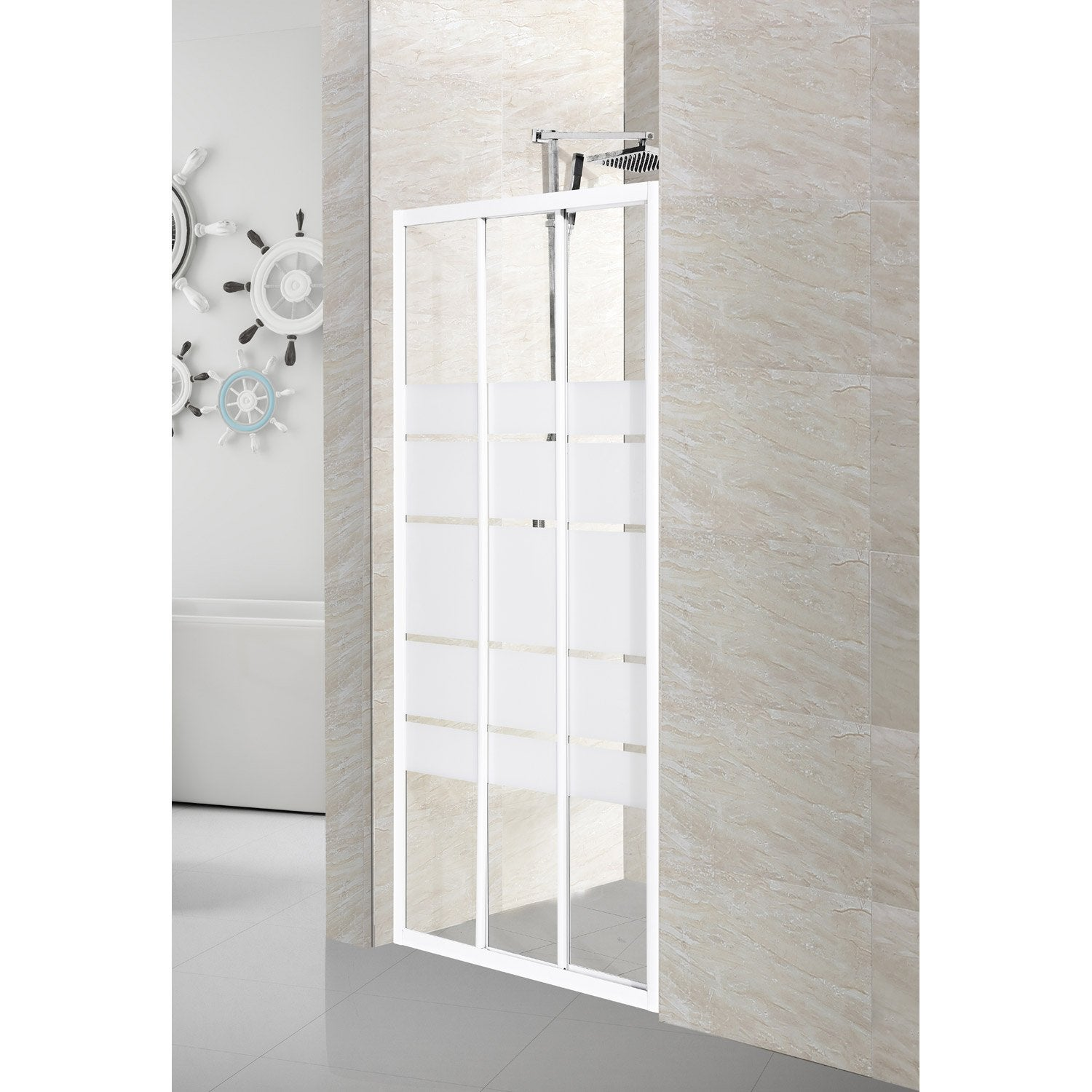 porte de douche coulissante 99 cm s rigraphi nerea. Black Bedroom Furniture Sets. Home Design Ideas