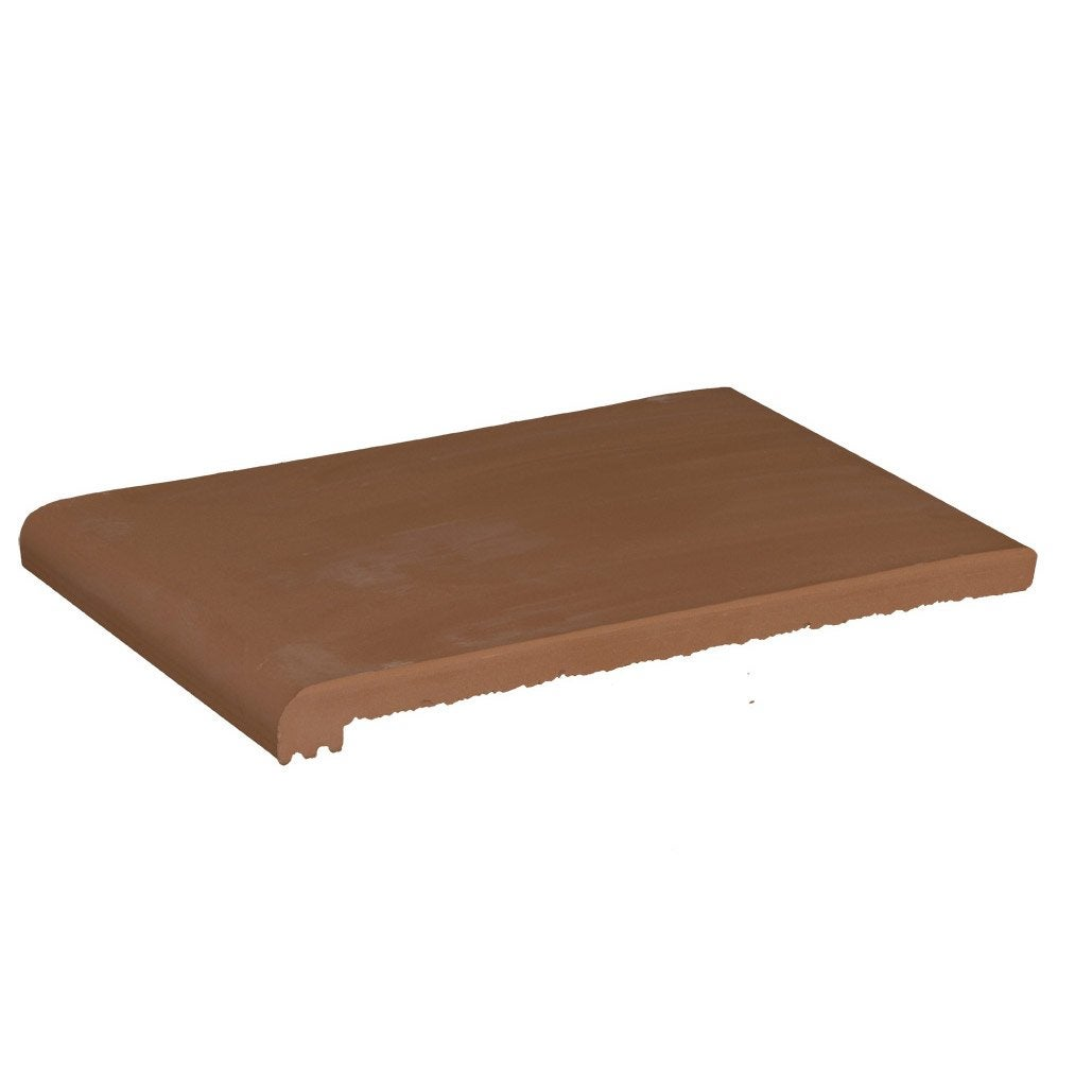 nez de marche en terre cuite terre cuite rouge flamm e. Black Bedroom Furniture Sets. Home Design Ideas