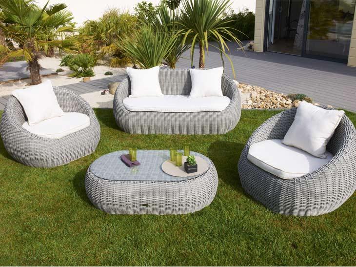 Best Salon De Jardin Gris Carrefour Images - Amazing House Design ...