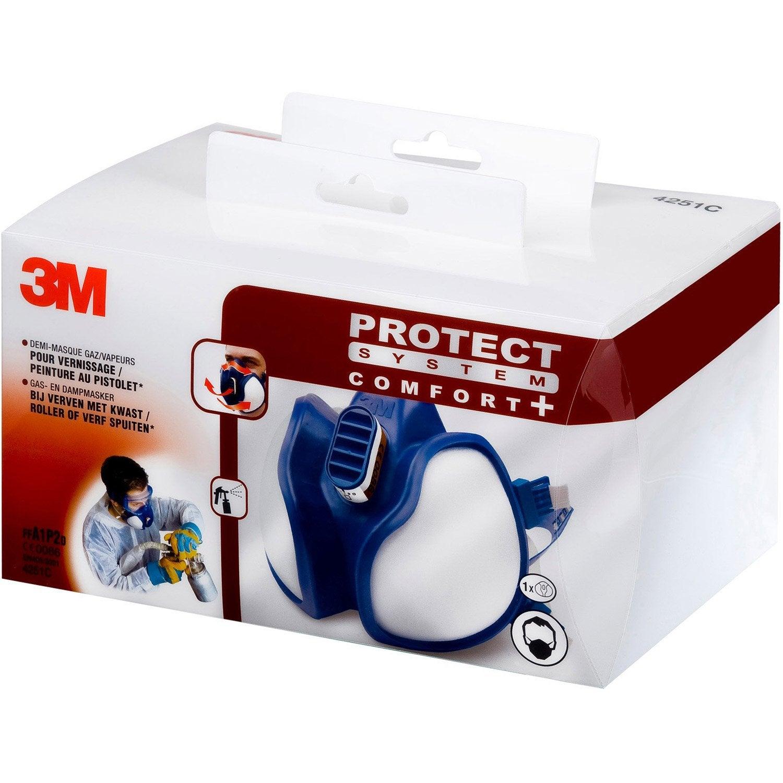 masque de protection anti poussi re 3m protect leroy merlin. Black Bedroom Furniture Sets. Home Design Ideas