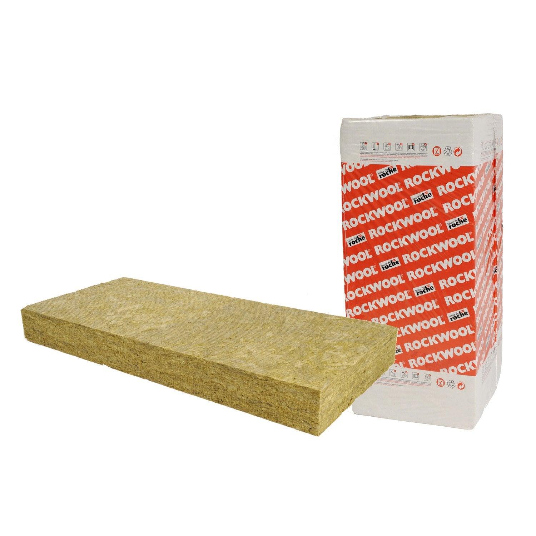 5 panneaux en laine de roche rockfa ade rockwool r 3 4 - Coefficient r laine de roche ...