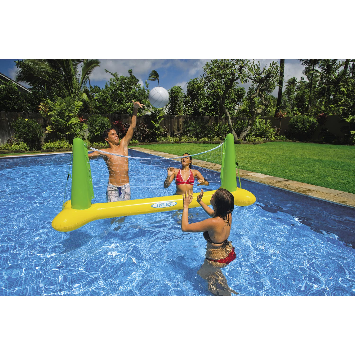 Jeu de volley de piscine intex leroy merlin for Piscine intex leroy merlin
