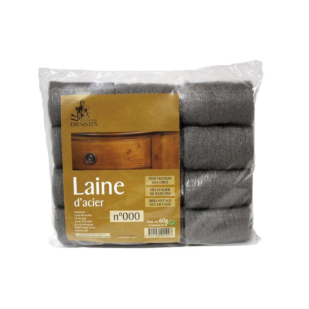 Laine d 39 acier n 000 les anciens ebenistes leroy merlin - Leroy merlin laine de verre ...