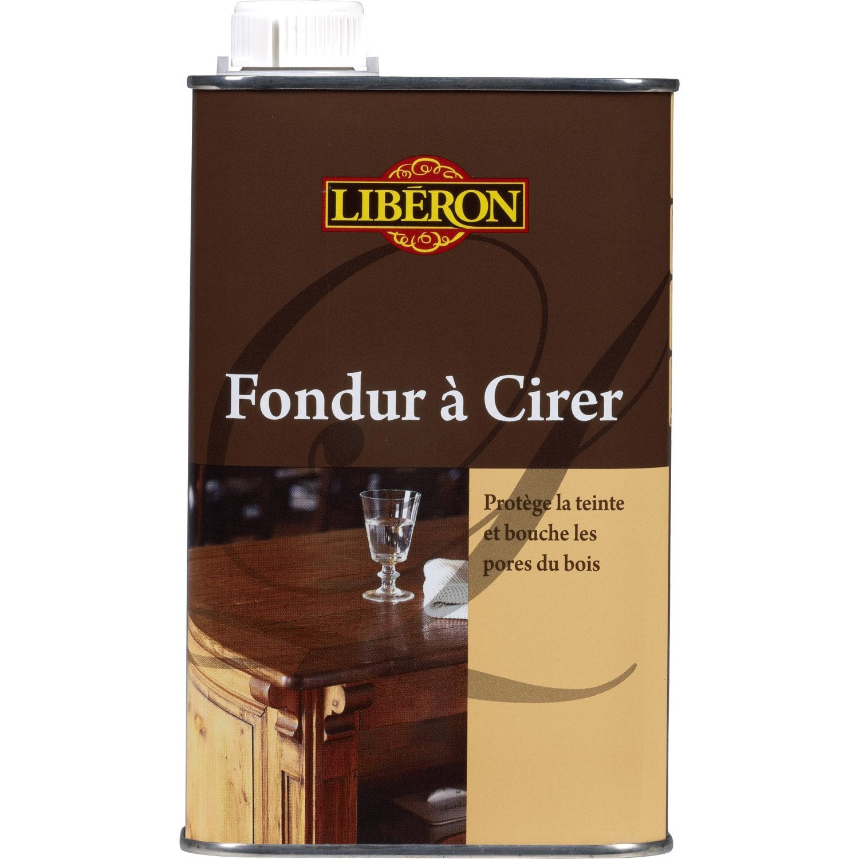 Fondur liberon 0 5 l incolore leroy merlin for Produits liberon