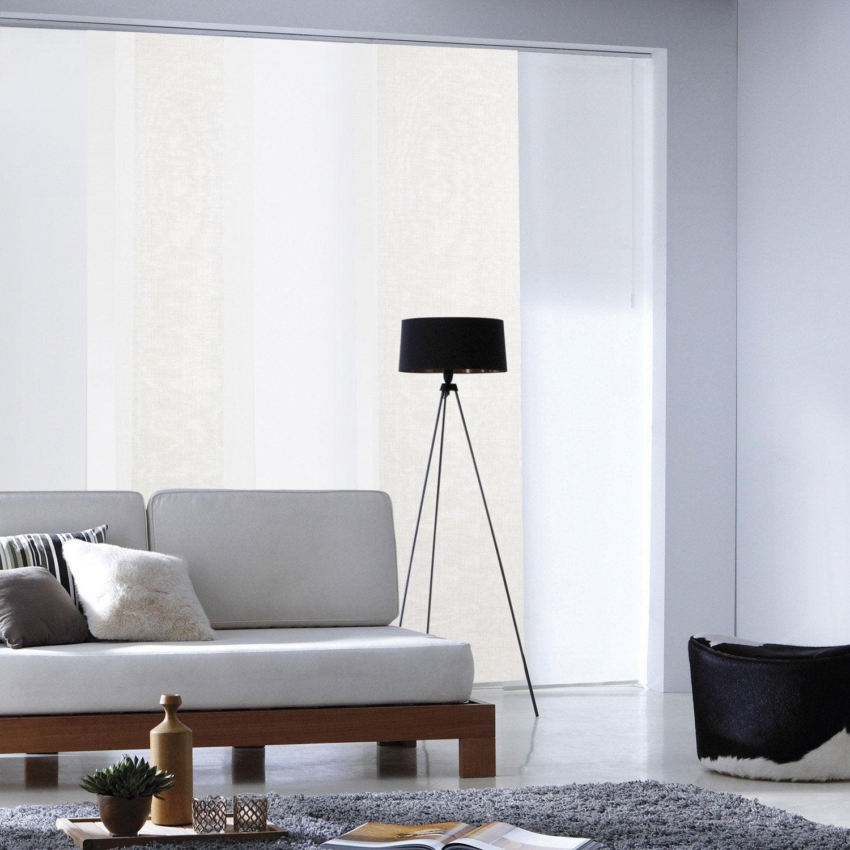 panneau japonais lin enduit naturel x cm. Black Bedroom Furniture Sets. Home Design Ideas