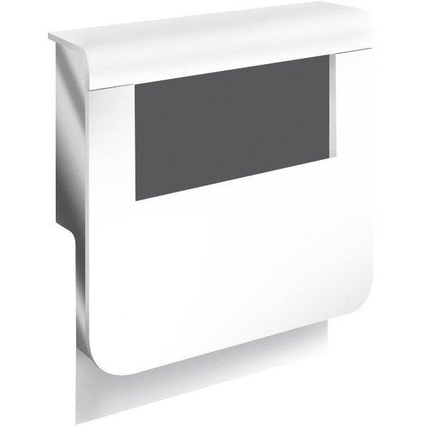 Adaptateur blanc pour plinthe h 22 x cm leroy merlin for Plinthe cuisine 17 cm