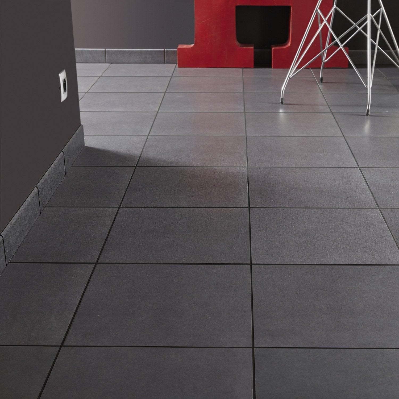 carrelage sol et mur noir effet b ton aero jet x l. Black Bedroom Furniture Sets. Home Design Ideas