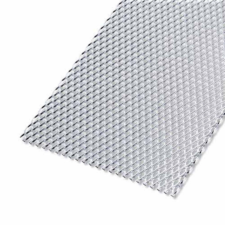 T le perfor e aluminium brut x cm x ep 1 6 mm - Plaque d aluminium leroy merlin ...