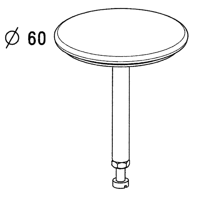 clapet recouvrant en inox pour bonde de lavabo leroy merlin. Black Bedroom Furniture Sets. Home Design Ideas
