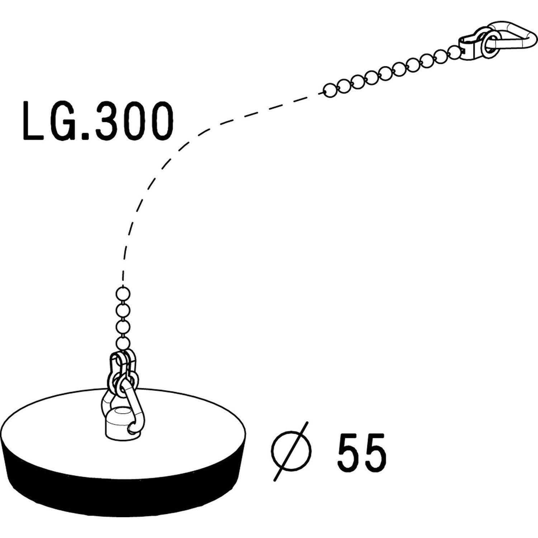 bouchon pour vier anneau et chaine 30 cm leroy merlin. Black Bedroom Furniture Sets. Home Design Ideas