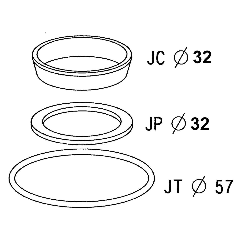 Kit de joints pour siphon de lavabo leroy merlin - Joint syphon evier cuisine ...