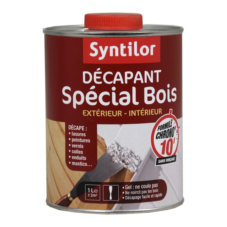 D capant bois syntilor 1l leroy merlin - Decapant vernis bois ...