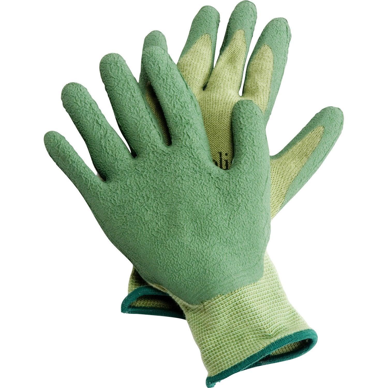 gants de plantation geolia vert taille 7 s leroy merlin. Black Bedroom Furniture Sets. Home Design Ideas
