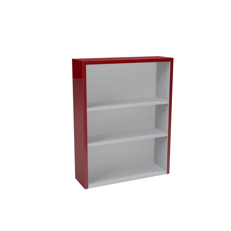 caisson meuble bas sensea remix rouge rouge n 3 leroy merlin. Black Bedroom Furniture Sets. Home Design Ideas