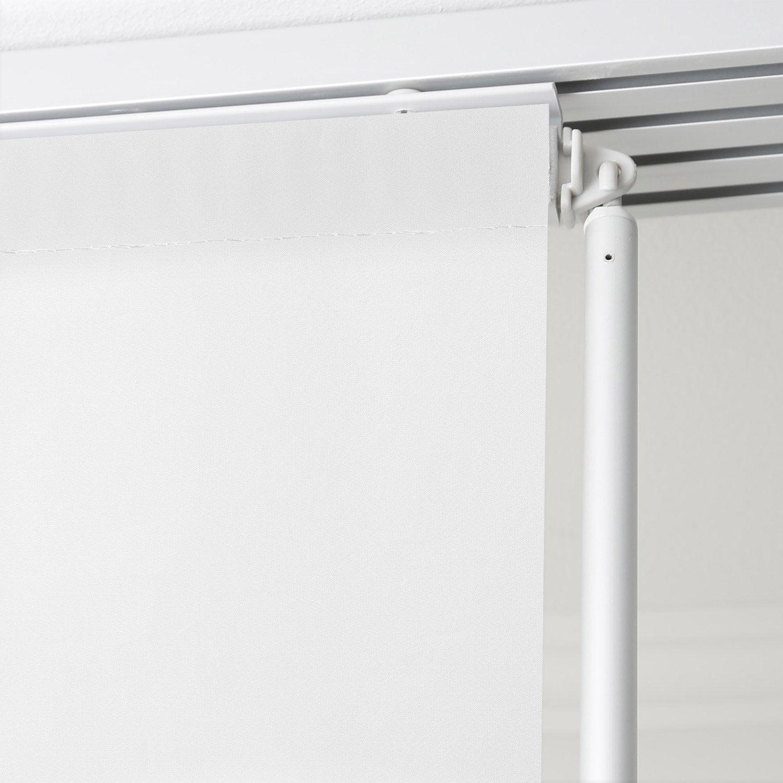Baguette de guidage pour panneau japonais aluminium gris cm leroy merlin - Panneau japonais gris ...