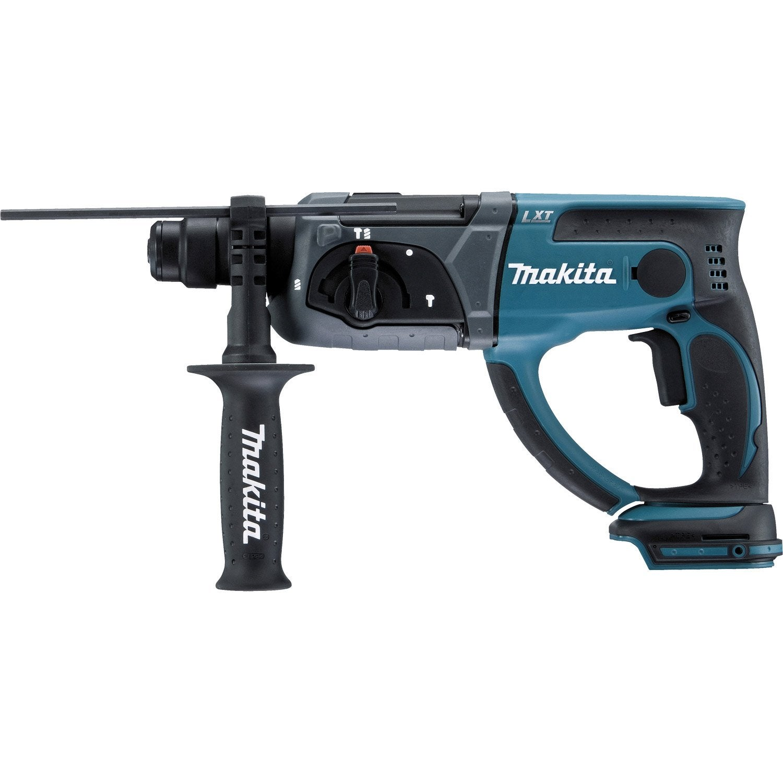 Perforateur sans fil makita dhr202z 18 v sans batterie leroy merlin - Prix d un perforateur ...