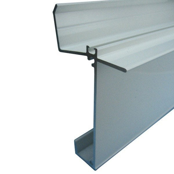Fa ti re inf rieure sur mesure pour plaque ep 32 mm blanc l 0 5 m leroy merlin for Plaque alu cuisine sur mesure