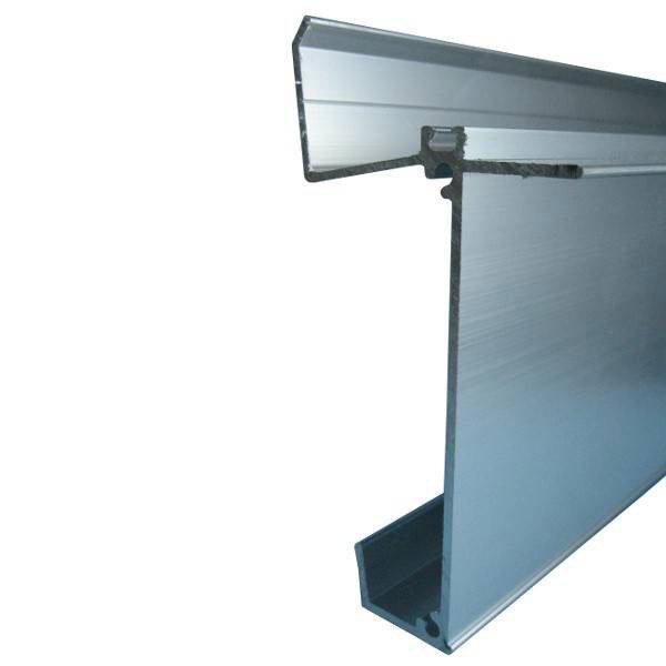 fa ti re inf rieure sur mesure pour plaque ep 32 mm aluminium l 0 5 m leroy merlin. Black Bedroom Furniture Sets. Home Design Ideas
