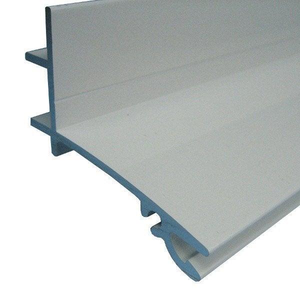 Fa ti re sup rieure sur mesure pour plaque ep 32 mm blanc for Plaque de plexiglas sur mesure leroy merlin
