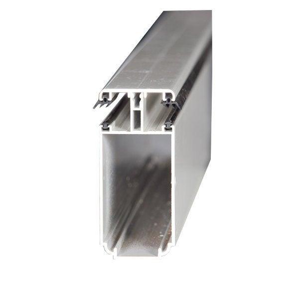 Tube 121 sur mesure jonction pour plaque ep 16 mm aluminium l 0 5 m leroy merlin for Plaque alu cuisine sur mesure