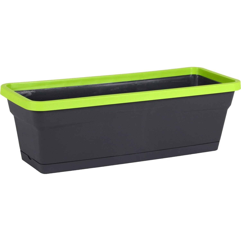 jardini re r serve d 39 eau eda x x cm anthracite pistache leroy merlin. Black Bedroom Furniture Sets. Home Design Ideas