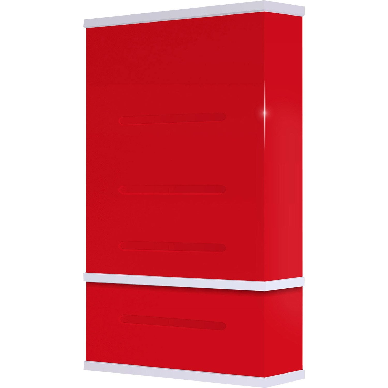 Chauffe eau lectrique horizontal ou vertical waterslim wts 50 rouge 50 l - Chauffe eau 50 litres horizontal ...