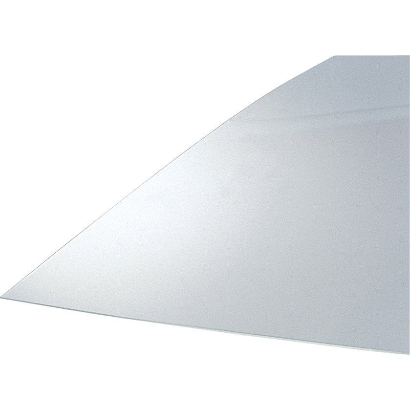 Plaque plane polyester translucide