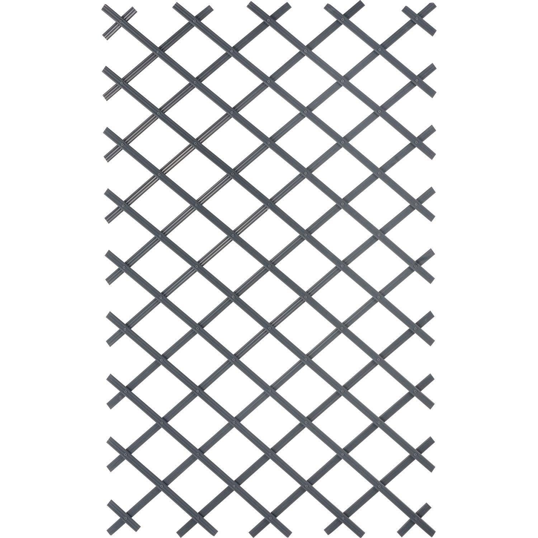Treillage extensible droite en pvc jany tradition x x p 0 8 cm - Treillage bois leroy merlin ...