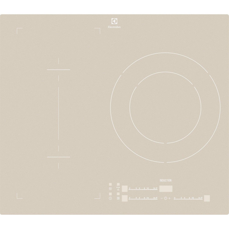 Plaque induction 3 foyers inox electrolux ehn6532ios leroy merlin - Plaque induction 3 foyers ...