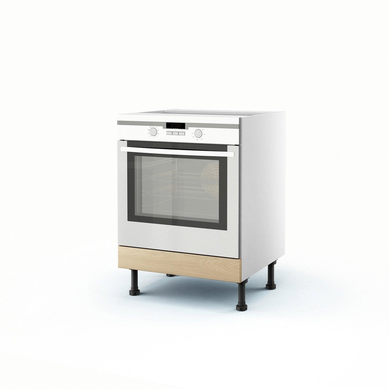 Meuble cuisine chene clair id e inspirante for Peinture v33 meuble cuisine leroy merlin