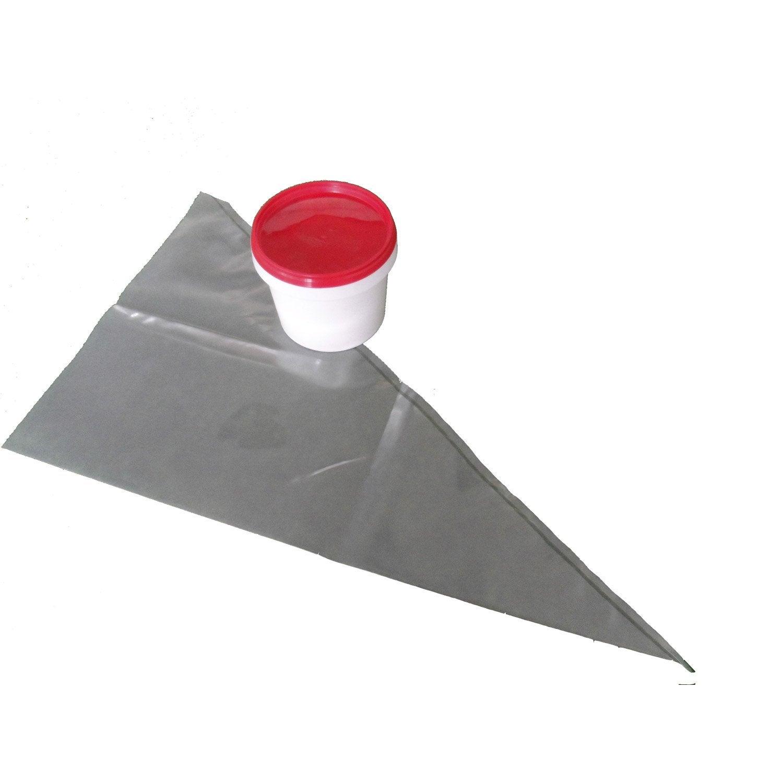 1 kit finition pour panneaux isolants d coratifs thermart white 500g leroy - Panneaux acrylique leroy merlin ...