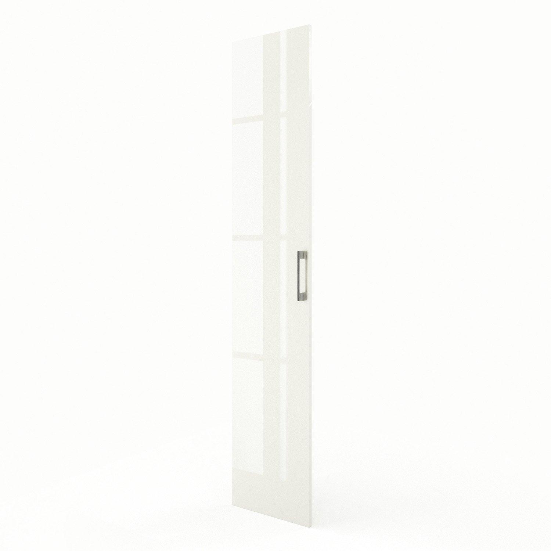 Porte colonne de cuisine beige perle x cm for Colonne cuisine 40 cm