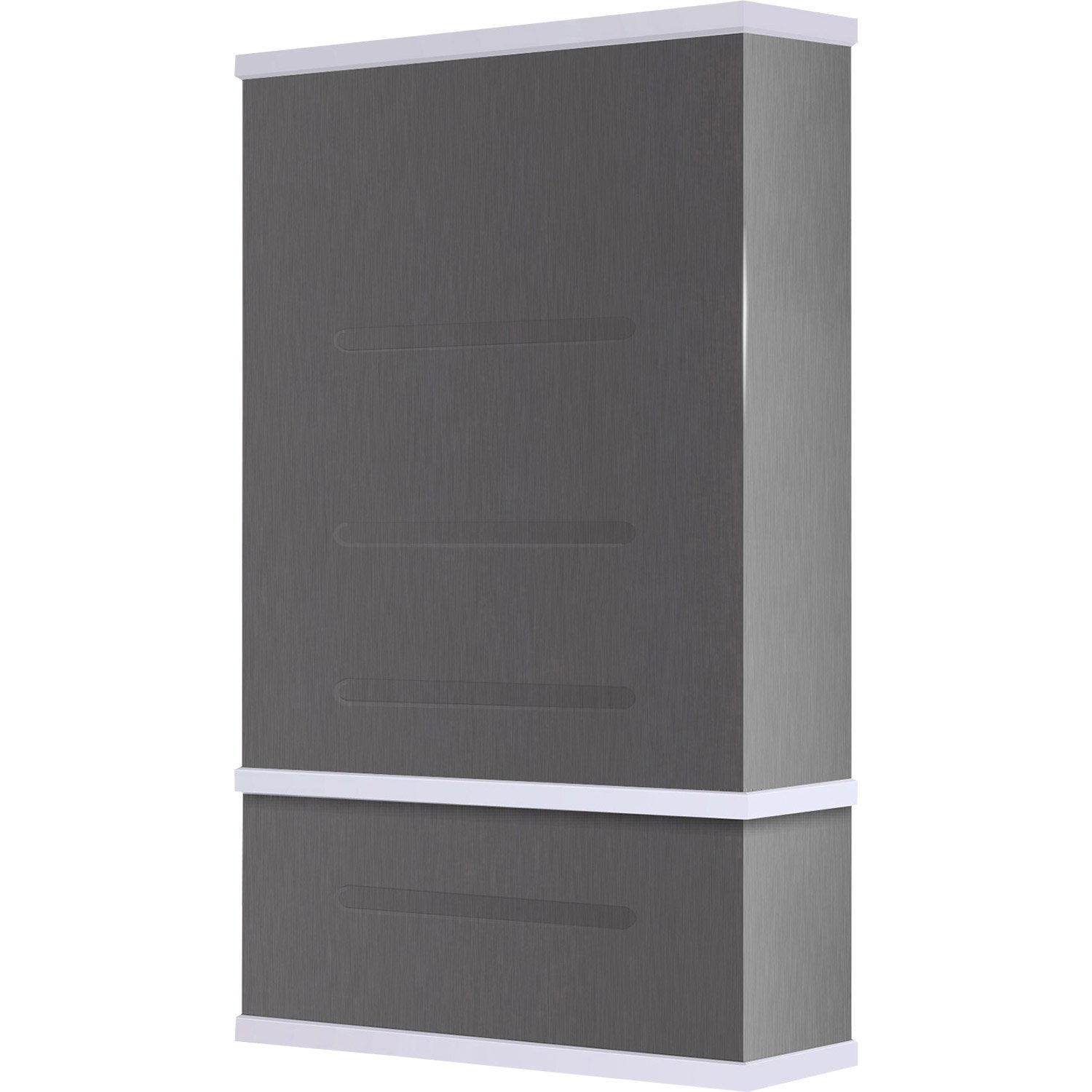chauffe eau lectrique vertical mural waterslim wts 50 alu. Black Bedroom Furniture Sets. Home Design Ideas